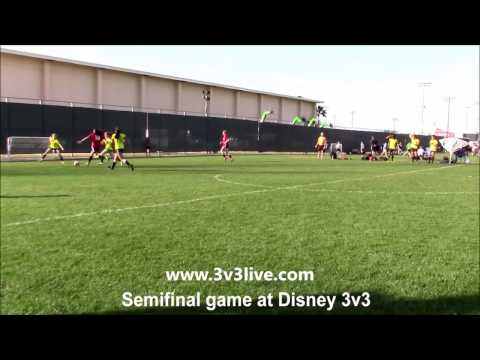 Nice Lefty in Disney Semi: Goal of the year nominee