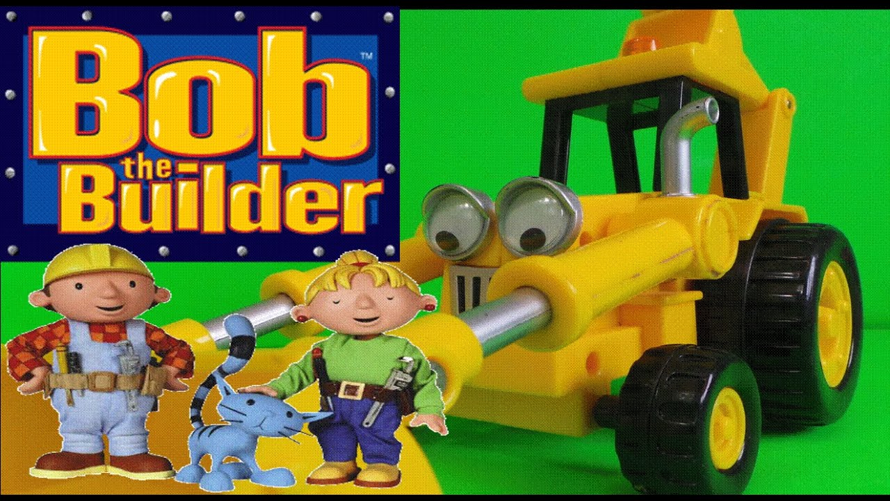 Lets play with bob the builder scoop jcb backhoe loader truck toy lets play with bob the builder scoop jcb backhoe loader truck toy youtube sciox Images