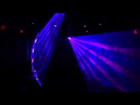 Wave Karaoke Club In Yerevan Laser Show