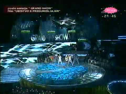 Ana Kokic  Mojne mala  Grand   TV Pink 2007