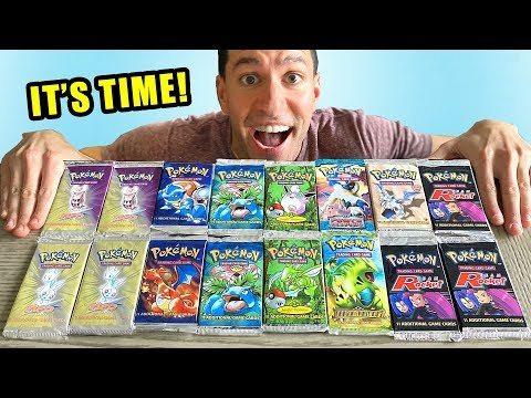 *THE $2000 POKEMON CARDS OPENING!* Rare Booster Packs!