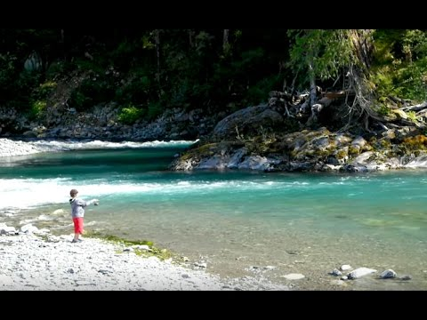 Fishing With Kids (Olympic National Park)