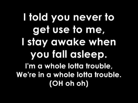 Leona Lewis - Trouble (ft. Childish Gambino) Lyrics Video