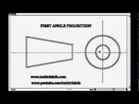 3rd Angle Projection in addition CDT10clockP1orthodrawing in addition Cadexercises blogspot together with Sem 1 as well Machine Drawing 53536623. on first angle projection symbol