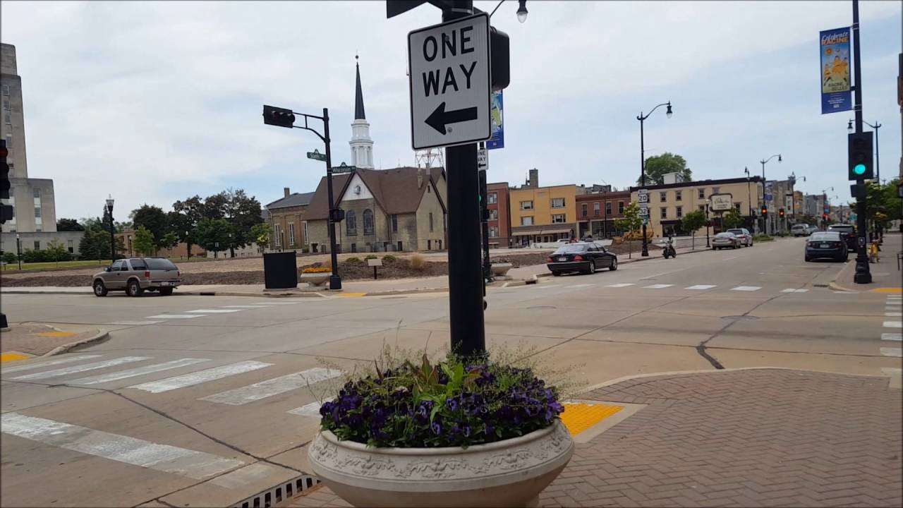 Downtown Racine Wisconsin 2016