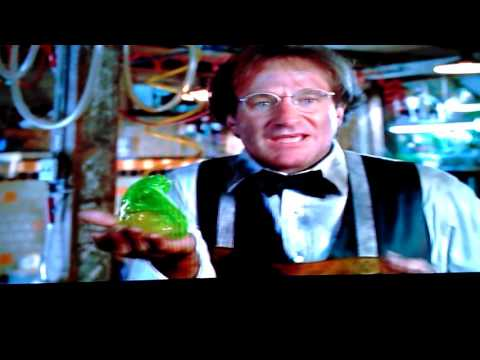 Funny scene with  Flubber