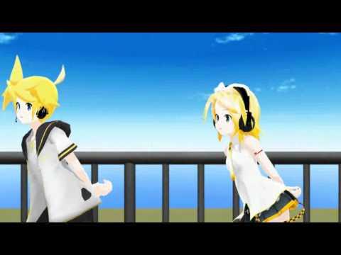 【MMD】 Happy Synthesizer 【レン -  96猫】