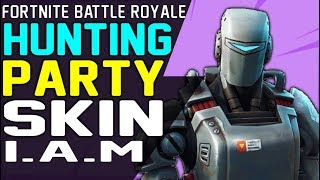 NEW FORTNITE SECRET HUNTING PARTY SKIN A.I.M LEGENDARY OUTFIT - AIM CHALLENGE SKIN Season 6