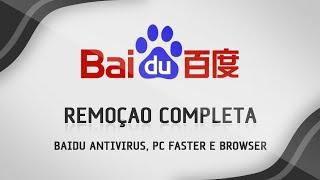 Como remover o Baidu completamente do computador - SEM ERROS