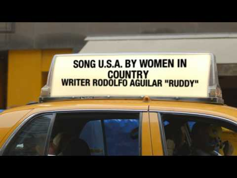 """Country Song """"U.S.A."""" by Women In Country - Rodolfo Aguilar """"Ruddy"""""""