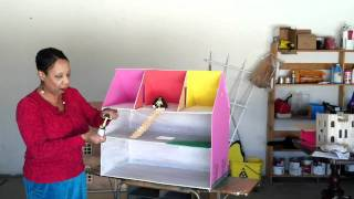 Dollhouse Show And Tell  - How To Make Doll House From Plywood