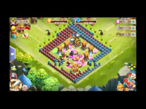 Castle Clash Quest Board Completion Gameplay