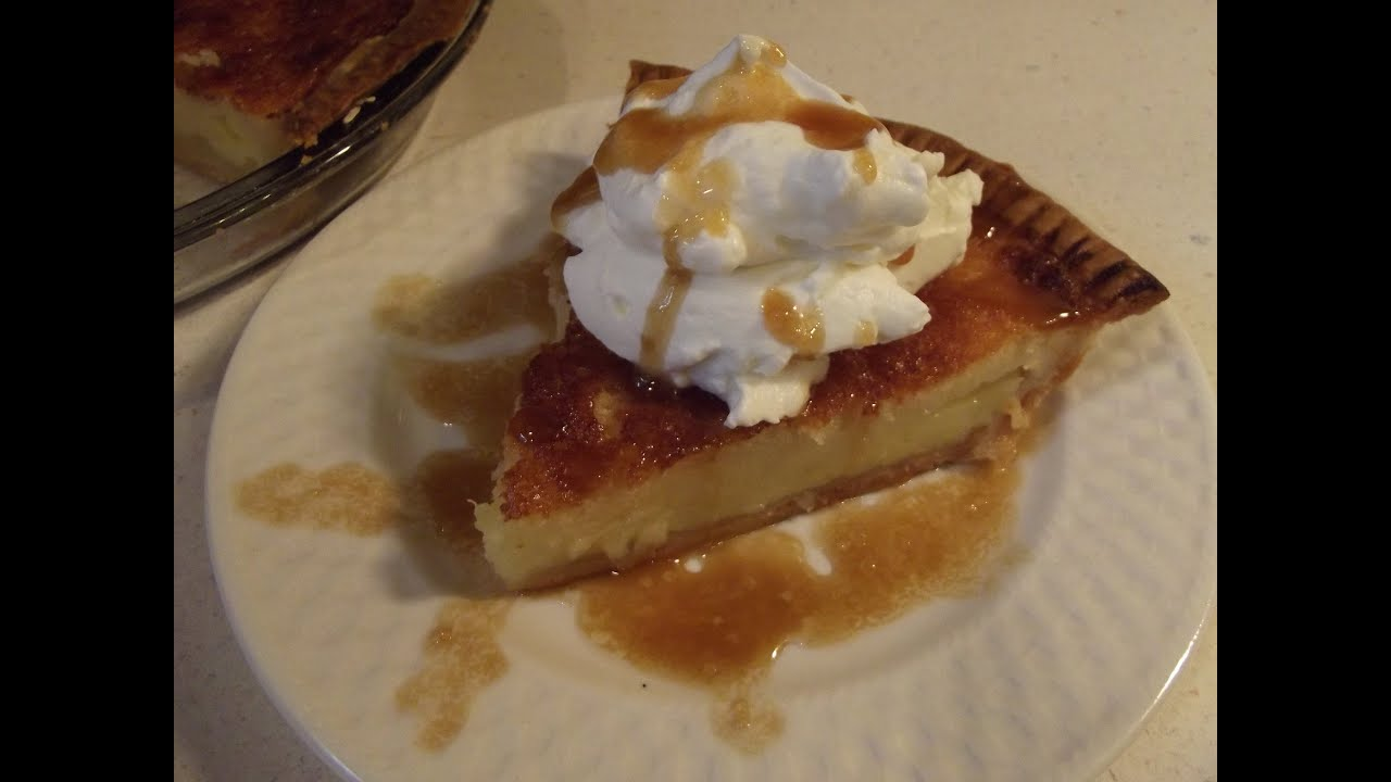 Buttermilk Pie   The Hillbilly Kitchen   YouTube