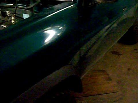 97 nissan pickup 24 l manifold replace broken bolt removal - YouTube