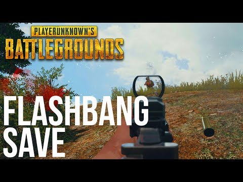 ULTIMATE FLASHBANG SAVE - Battlegrounds (PUBG)