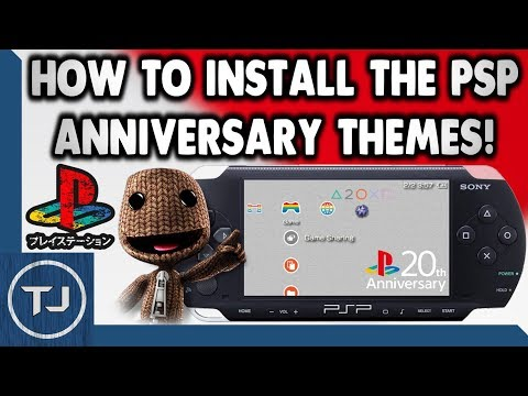 How To Install The Sony PSP Anniversary Themes! Mp3