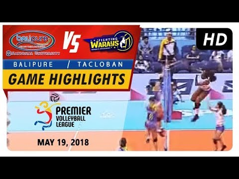PVL RC Season 2 - WD: NU Purest Water Defenders vs. Fighting Warays | Game Highlights | May 19, 2018