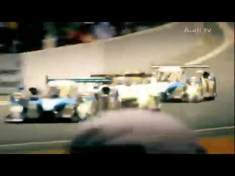 Audi R15 TDI,3rd at 24 hours of Le Mans 2009,great battle