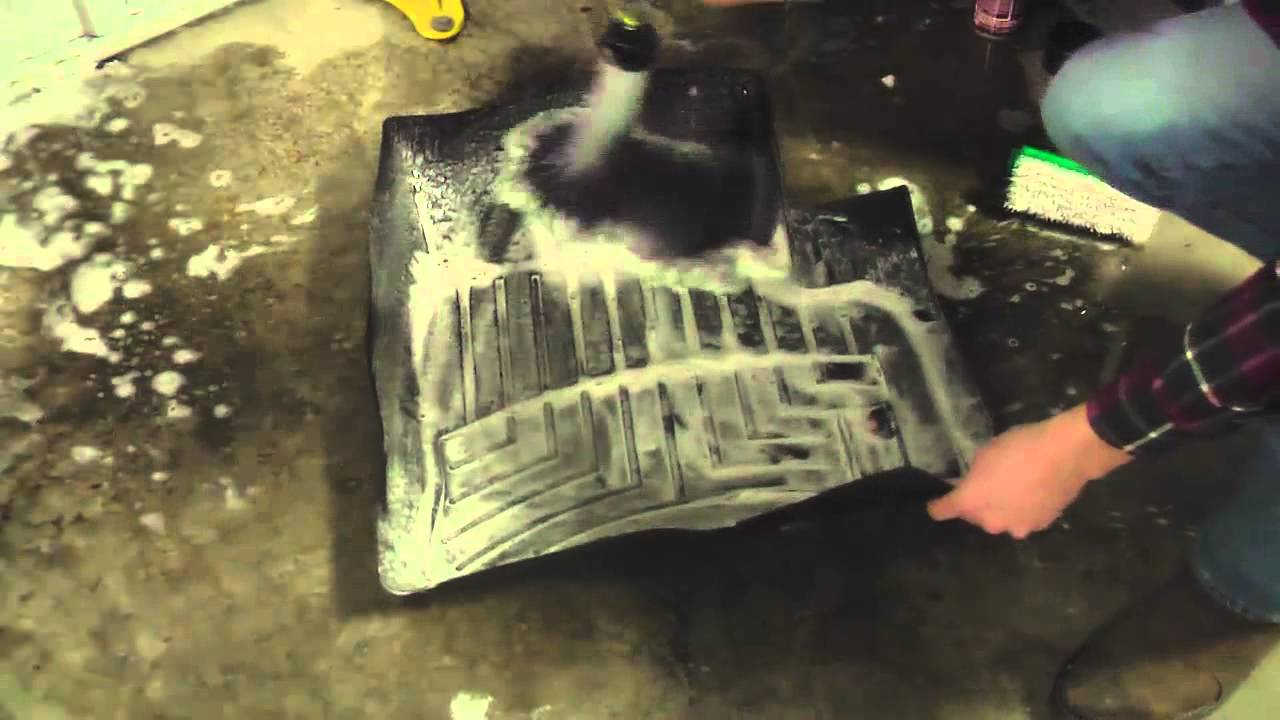 Cleaning Your Weathertech Floor Liners Youtube