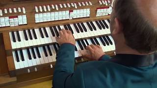Willem van Twillert plays, C. Harris, Festival Postlude, Walcker-organ