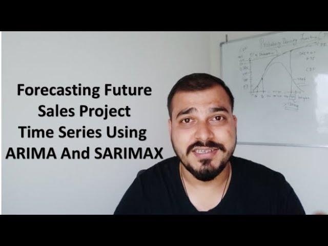 Forecasting Future Sales Using ARIMA and SARIMAX