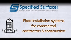 Commercial Flooring Installation Specified Surfaces Florida