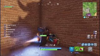 FORTNITE QUAD I TRAVERSE A MUR WITHOUT THE CASSER! Wallbreach without breaking wall