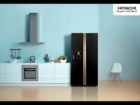 Холодильник Hitachi R W 662 PU3 Big French