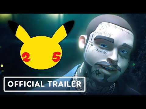 Pokemon 25th Anniversary - Official Post Malone Concert Trailer