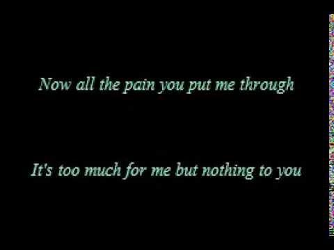 i'm sorry but i'm walking away lyrics