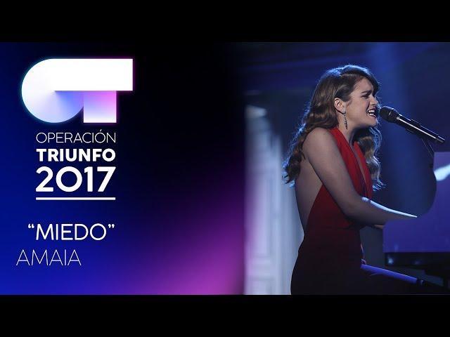 Amaia, ganadora de la Operación Triunfo
