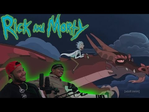 Download RICK AND MORTY SEASON 4 EPISODE 4 LIVE REACTION   HOW TO TRAIN YOUR DRAGON