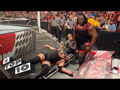 Thumbnail: Infamous cage crashers: WWE Top 10