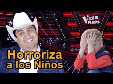 Julión Álvarez Arruina Grabaciones de la Voz Kids México