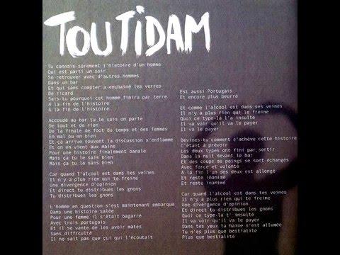 Toutidam - Album PRIMEURS - W-D.music - damien-wautelet.com