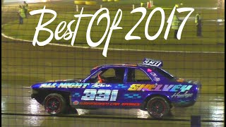 2017 Banger Racing Crash Compilation (Best of PF Racing Media)