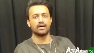 Atif Aslam's Massage for Riyadh Saudi Arabia Fans ( 2019 )