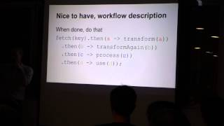 Introduction to RxJava, with code examples by Xavier Lepretre - SG Android Developers 05/2015 Part 1