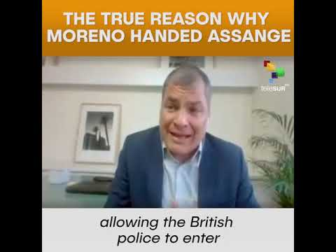 The True Reason Why Moreno Handed Assange