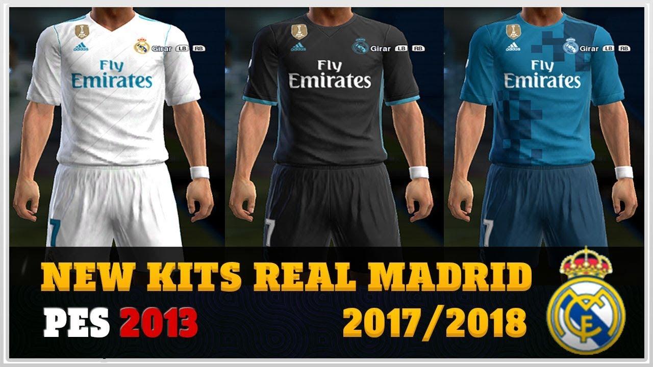 download kit real madrid 2018 pes 2013
