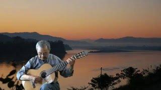 Chiều Về Trên Sông, sáng tác: Phạm Duy, guitar by Lâm Viên