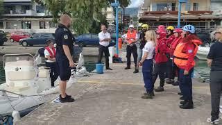 Μεσσηνία: Εκπαίδευση διασωστών στο χειρισμό σκάφους από Νορβηγούς (1)EOD RS 1