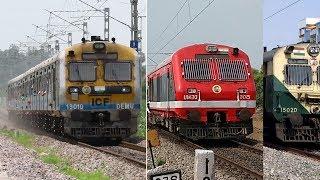 22 In 1 MEMU vs DEMU Trains | INDIAN RAILWAYS