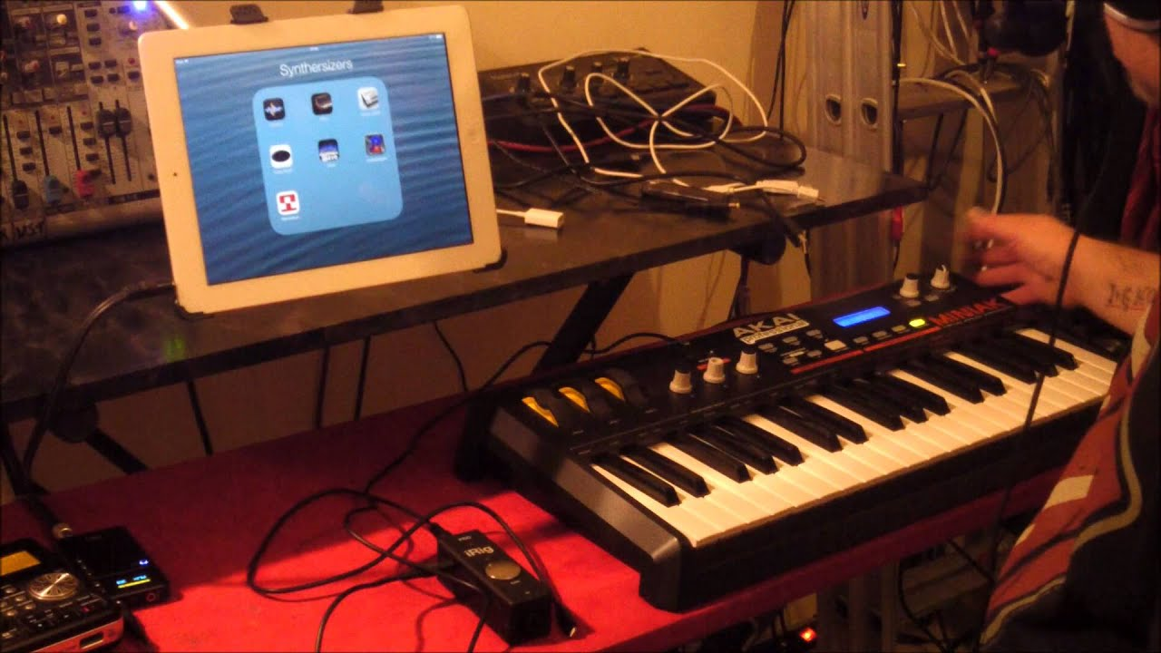 How Do I Hook Up A Midi Keyboard To My Ipad