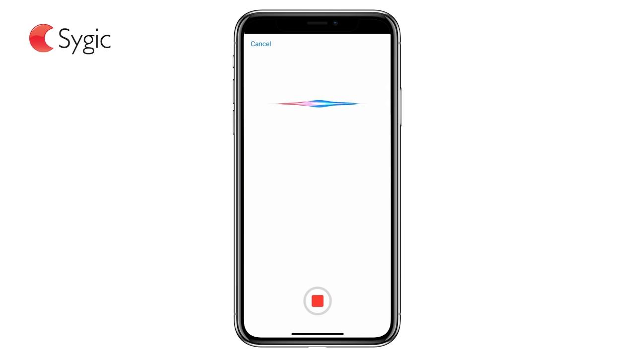 Sygic Now Supports Siri Shortcuts