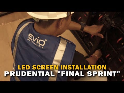 "Prudential ""Final Sprint"" Semarang - LED Screen by Evio Multimedia"