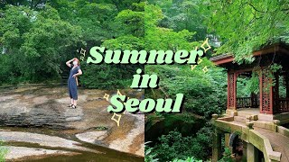 A Summer Day in Seoul's Buam-dong Neighborhood | Life in Korea VLOG