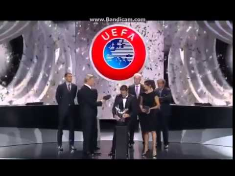 Cristiano Ronaldo Wins Best Player in Europe UEFA Champions League - Group Stage Draw