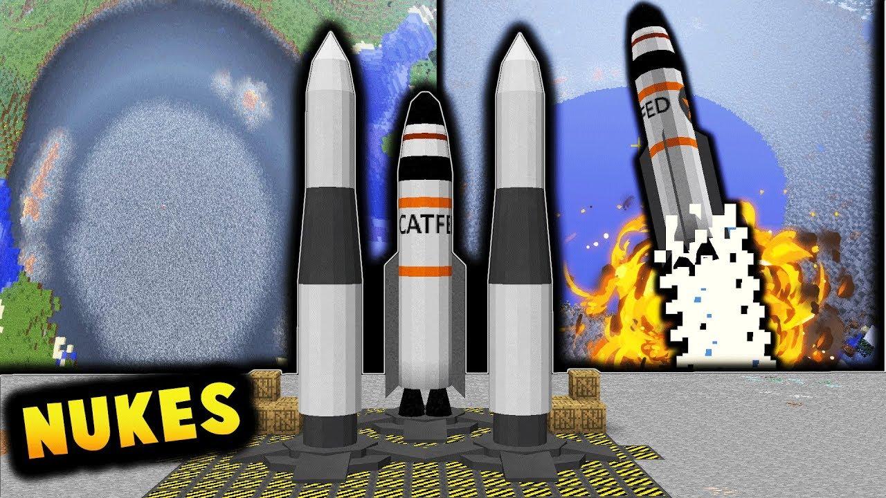 Xplosives Mod 1.12.2/1.12 (Wide Range of Different Explosives)