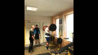 Видас Блекайтис  приседания 350 кг на 2, подготовка к КRINICA СUP 2014